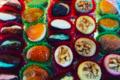 Pâtisserie La Vieille France. Fruits déguisés