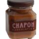 Chocolat Chapon. Crème de praliné au sel fumé et pistache