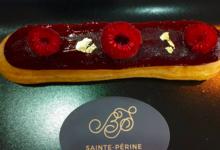 La Boulangerie Sainte Périne. Eclair à la framboise