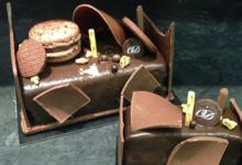 Boulangerie pâtisserie O.Duroc. Bûche