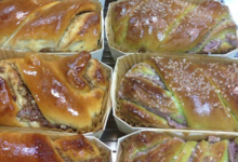 Boulangerie pâtisserie O.Duroc. Brioches