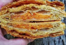 Boulangerie Utopie. Chausson abricot lavande