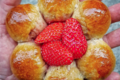 Boulangerie Utopie. Fleur à la fraise