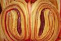 Boulangerie Utopie. Coeur de palmier à la framboise