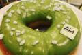 Aki Boulangerie. Donut matcha