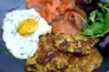 Le Stube. galettes de légumes crousti-fondantes