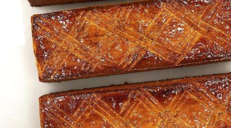 Cédric Grolet. Gâteau basque