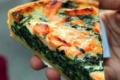 Stohrer. Quiche épinards saumon