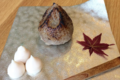 Pâtisserie Tomo. Yaki-guri: châtaigne et haricot blanc