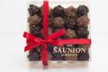 Chocolaterie Saunion. Mini rochers Pralinés noir et Lait