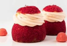 Pâtisserie Sitron. pti Chou d'Amour fraise Tagada