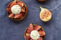 Chambelland. Tartelettes aux figues