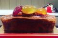 Pâtisserie Pain de Sucre. Cake aux fruits confits