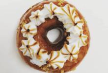 Les Petits Donuts. Donut Passion Gingembre Meringue
