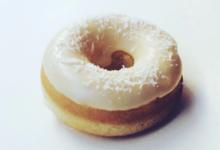 Les Petits Donuts. Donut noix de coco-vanille de Madagascar