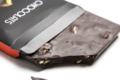 Girard Chocolatier. Tablette chocolat noir avec des amandes
