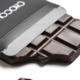 Girard Chocolatier. Tablette chocolat noir Orangettes