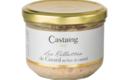 Castaing. Rillettes de canard au foie gras
