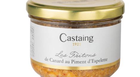 Castaing. Fritons de canard au piment d'Espelette