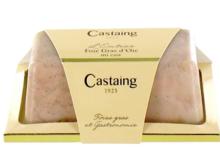 Castaing. Foie gras d'oie entier mi-cuit
