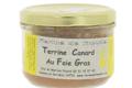 ferme de Linoudel. Terrine de canard au foie gras