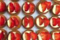 Maison Marnay. Tartelettes aux fraises