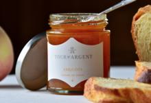 La boutique de la Tour d'Argent. Confiture d'abricots poivre de cassis