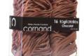 Cornand. Tagliatelles laminées en nids aux œufs. Chocolat