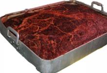 Salaisons Guèze. Plat de pâté de campagne