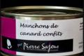 Pierre Sajous. Manchons Confits de canard
