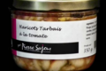 Pierre Sajous. Haricots Tarbais à la tomate