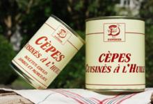 Duperier. Cèpes cuisinés à l'huile