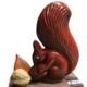 Chocolatier Joseph. Ecureil