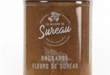 La Maison du Sureau. Confiture de rhubarbe et fleurs de sureau