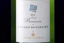 Taille Princesse blanc de Gérard Depardieu by Bouvet-Ladubay