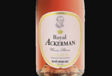 Ackerman. Saumur Cuvée Privée rosé Demi-Sec