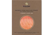 Maison Kaviari. Saumon fumé iles féroé