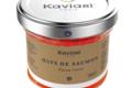 """Maison Kaviari. Œufs de saumon """"façon russe"""""""