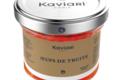 Maison Kaviari. Œufs de truite