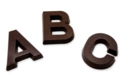 Jean-Charles Rochoux. Lettre Chocolat Noir