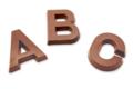 Jean-Charles Rochoux. Lettre Chocolat au lait
