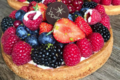 L'Etoile du berger. Tarte aux fruits rouges