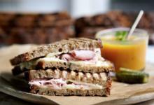 Lamée, sandwich d'artisan