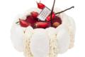Arnaud Delmontel. Vacherin vanille fraises