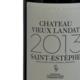 Château Vieux Landat. Saint Estèphe 2013