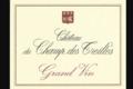 Chateau Du Champ Des Treilles. Grand vin rouge
