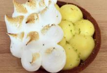 Boulangerie Petit Jean. tarte au citron combawa meringuée