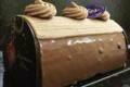 Ernest & Valentin. Bûche chocolat pécan