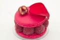 L'Osmanthe. Macaron framboise litchi rose