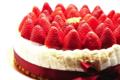 L'Osmanthe. Charlotte aux fraises et au jasmin